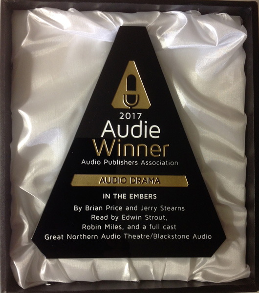 "Audie Award for Best Audio Drama 2017, for ""In The Embers"""